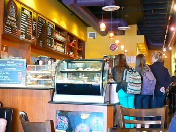 A pleasant, community minded hot spot: Black Cat Coffee House in the Arcadia District.   ©2013 ANVidean