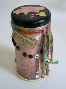 I'm giving away six of my Fae Wishing Tins, hand created for the event.