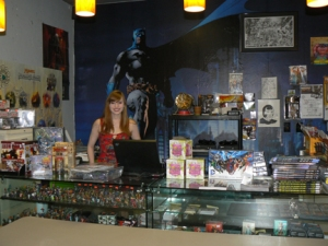Shannon is the resident Magic: The Gathering liaison at Gotham City Comics & Coffee. @2013 ANVidean