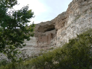 Montezuma's Castle, just off I-17 south of Flagstaff, AZ.  @2013 ANVidean