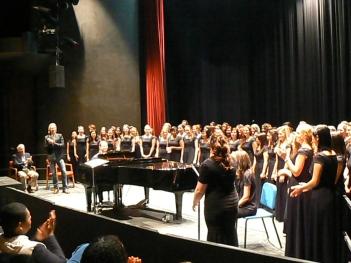 ASU Women's Choir workshop with Whitacre. Photo: ©ANVidean 2013
