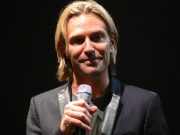 Eric Whitacre answers audience questions at ASU, Oct. 24.  Photo: ©ANVidean 2013