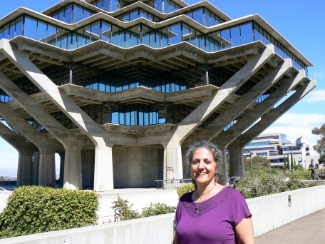 Do your social media work now. Find your book later in a library like UC San Diego's Geisel Library. This crazy cool facility in La Jolla, CA -- named in honor of long-time La Jolla residents Audrey and Theodor Seuss Geisel (better known as Dr. Seuss) -- houses more than 3.5 million books! Photo: 2013 CEVIdean