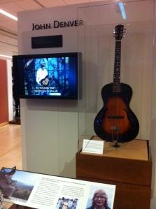 John Denver's guitar at the MIM