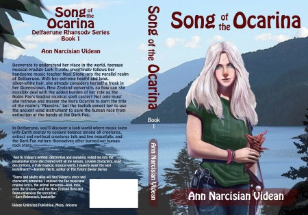 Song of the Ocarina novel cover, Ann Narcisian Videan