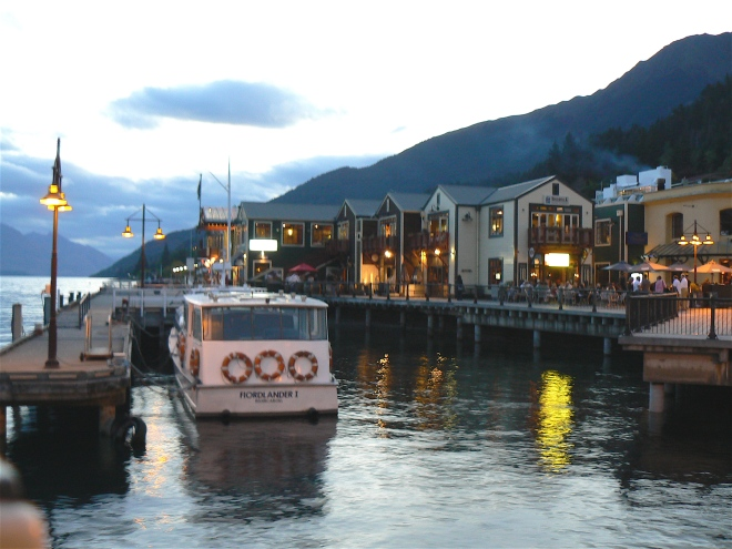 "This image of Queenstown, NZ, captures the feeling of my characters' magical world in ""Song of the Ocarina."" I'll talk about a starting point like this when creating a powerful fictional world, at our Nov. 13 established writers' lunch meeting – ALWAYS. @2008 ANVidean"