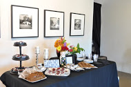 If you feed them, will they come? This is a question you might pose about book signings. These delicious treats at my recent book signing with C.L. Gillmore (A Friend Request) were a hit attendees. It helps when you fellow author used to cater.