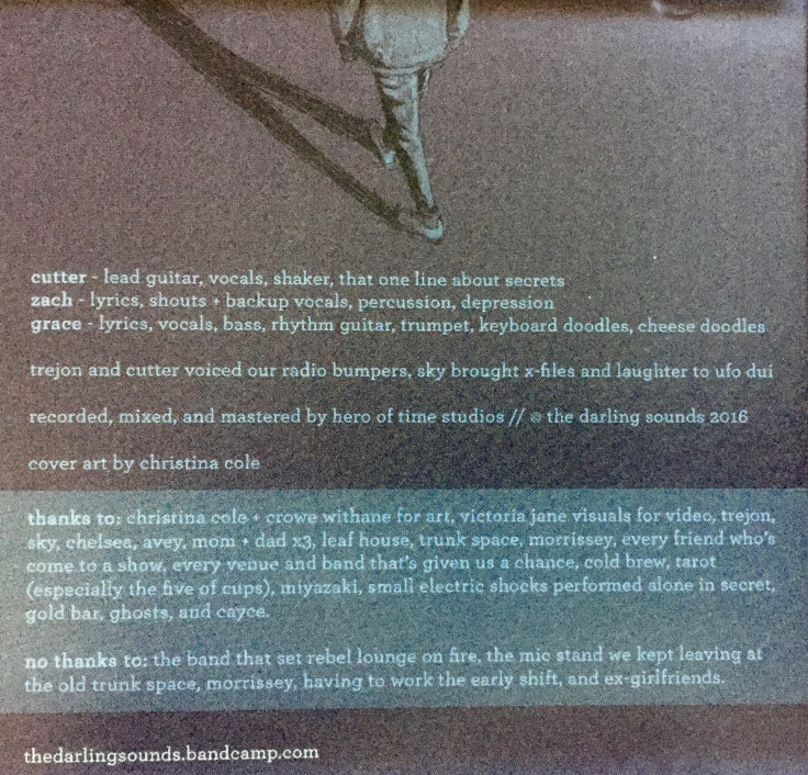 Liner notes may also give you a giggle.