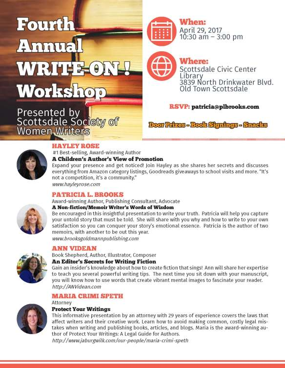 write on flyer 2017