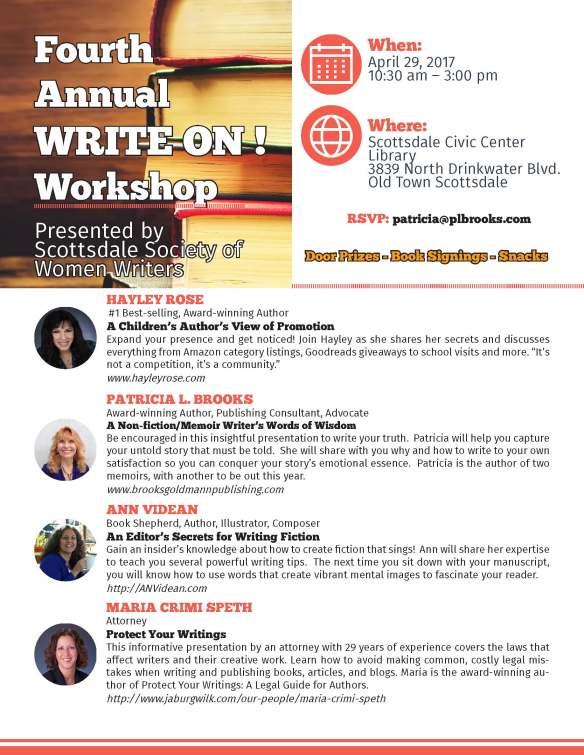 write on flyer 2017