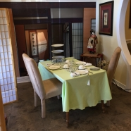 The Japanese-themed room